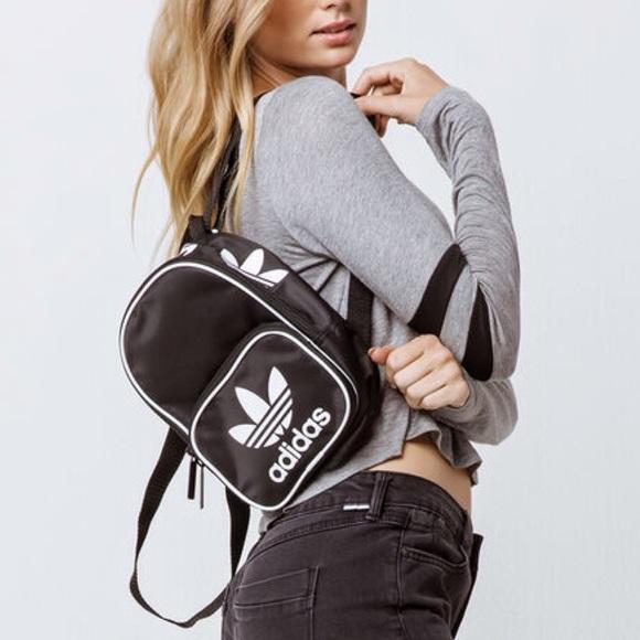 Adidas Originals• Santiago Black Mini Backpack